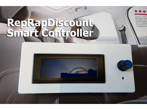 Top cover for RepRapDiscount Smart Controller