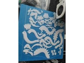 Dragon 3D Puzzle
