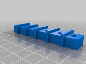 terminal block 4 x slotted