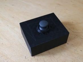 PS2 Joystick frame + Invention-Case V1 for Arduino, Raspberry Pi, DIY-STUFF