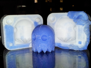 Pacman Ghost Mold