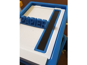 Paper Slot for letterboxes