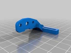 BL Touch Mount for Hypercube (fits with Hurricane duct slim)