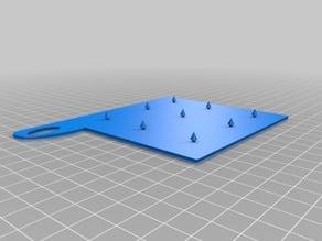 Miniature holder aerograph helper