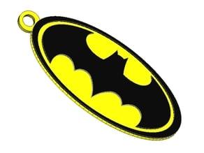 Batman keychain - double color