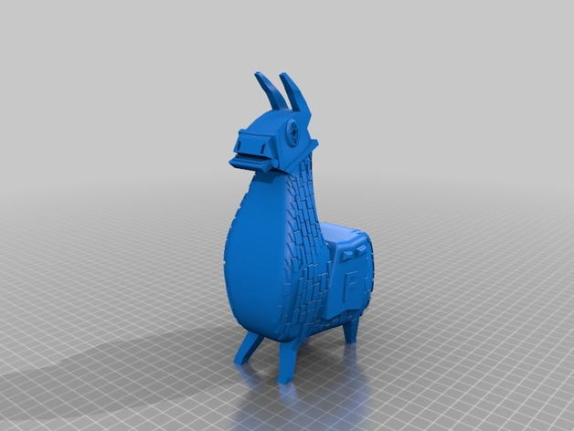 Key ring Fortnite Lama by decaPeter - Thingiverse