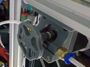 Manual feed extruder knob (NEMA17)