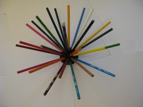 Pencil holder dome (safety reversible)