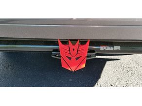 Transformers Hitch Cover with Tabs