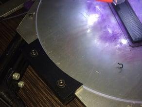 Kossel Hexagonal Heated Bed Glass Holder / Glass Clamp