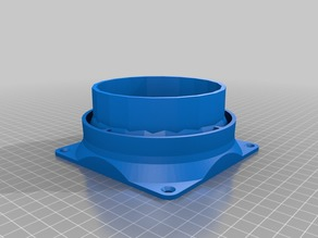 Vent Fan - 120 mm to 4 inch