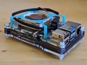 Raspberry Pi 4 40x10mm Fan Holder