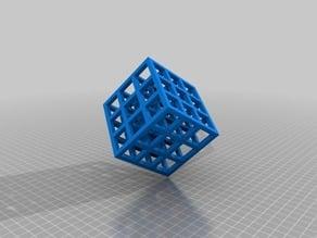 Tinkercad Lattice cube