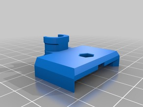 Prusa i3 Mk2 heatbed cable cover variant