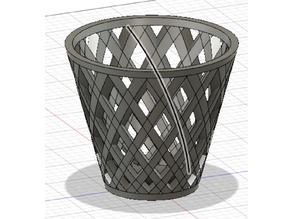 Cut Out Basket or Pot