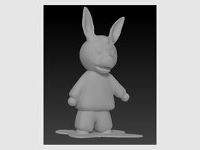 Trotro figurine 3D -Cake deco