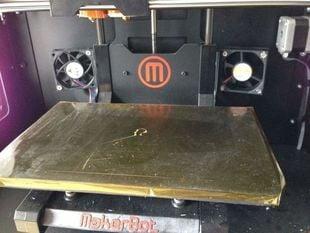 Replicator 2X internal fan mount