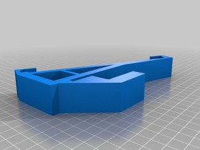 Surface shelf mount