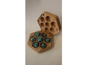 Hexagonal Dice Box Remix for 8x3mm