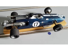 Support F1 Slot Racing 1/24