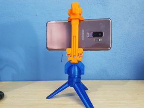 MINI TRIPODS (3mm SCREW) & UNIVERSAL PHONE MOUNT