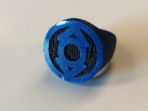 Indigo Lantern Ring for Dual Extrusion