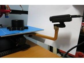 Ender 2 Bed Camera Mount - GoPro