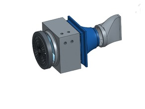 Air Extractor reversible made with PC fans