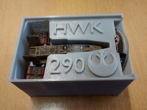 HWK-290 Holder (X-Wing Miniatures) for Stanley organizer