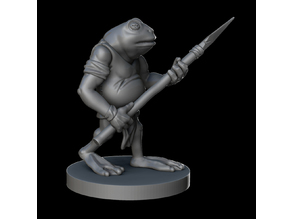Bullywug - DnD 28 mm miniature