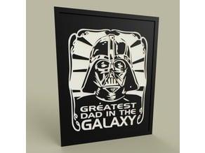 StarWars - Darth Vader greatest dad in the galaxy