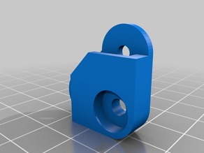 Spring Bed Clip for Round Print Beds (Kossel, Rostock)