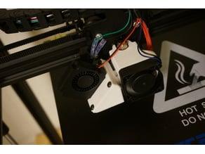 TronXY X5S Cooler Adapter Plate