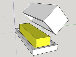 Simple Butter Container