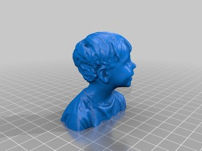 3D-Scan Bust Child
