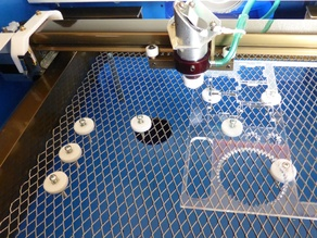 K40 40W Laser Table Disc Spacers/Standoffs M3/M4 Bolt
