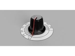K40 Laser Knob And Dial Gauge