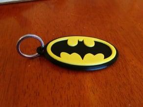 Bat Symbol Key Fob
