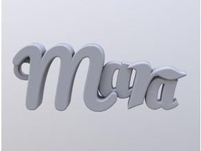 Mara keychain