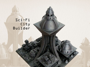 Sci Fi City Builder