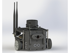 Weddell 2: Differential drive robot powered by ROS