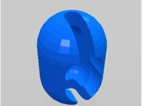 Ball chain blinds clip
