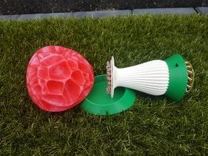 Mushroom lamp Base / Stand