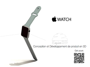 "Apple Watch 42 complete with Bracelet - Create your own and win the contest ""Nicest APPLE WATCH"""