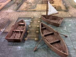 OpenForge rowboats