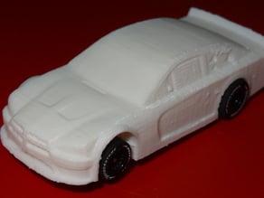 HO Slot car body - 2013 Dodge Charger Race Car