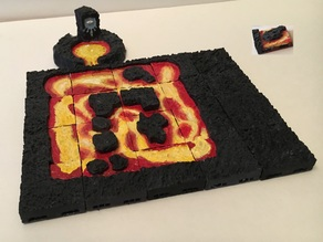 Various Lava Tiles with Openlock