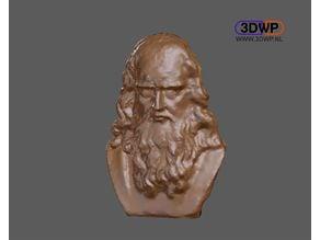 Leonardo Da Vinci Bust 3D Scan
