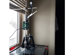 Adjustable Raspberry Pi Time-lapse Camera Stand