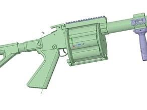 M32 MGL Grenade Launcher prop